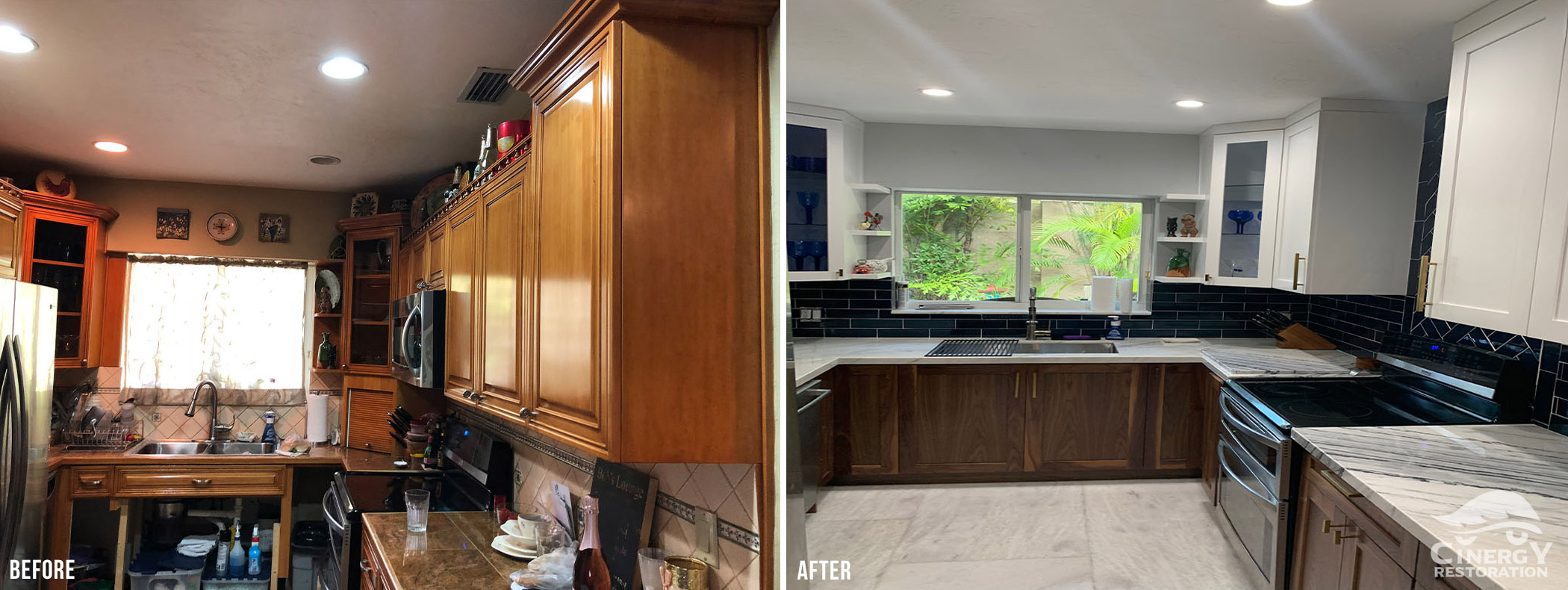 Cinergy Before After Kitchen